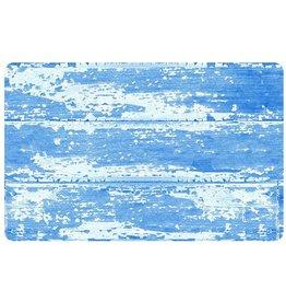 bungalow FoFlor 23 x 36 Accent Mat - Barnboard Blue