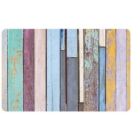 bungalow FoFlor 23 x 36 Accent Mat - Colored Barnboard