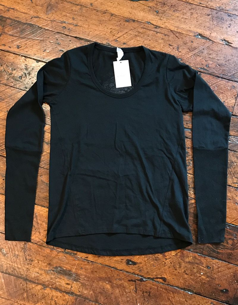 Alternative Apparel Cotton Long sleeve Logo tee