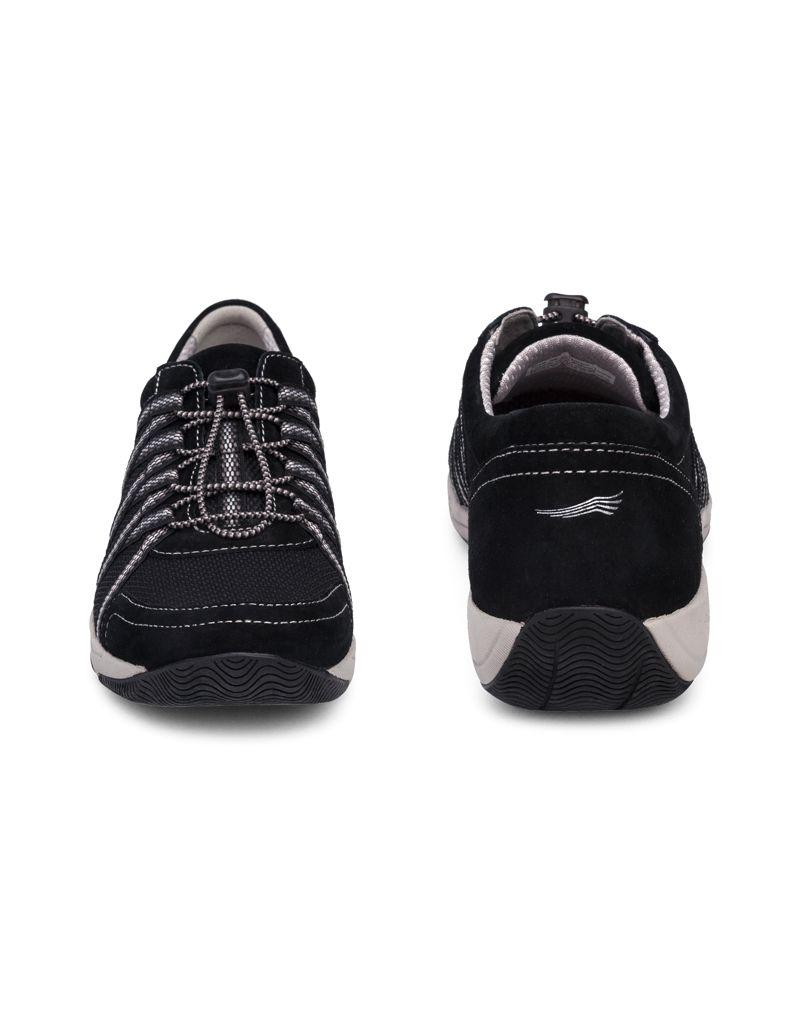 Dansko Honor Black Suede Sneaker