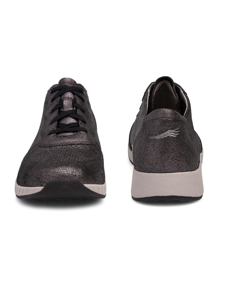 Dansko Christina Metallic Suede Sneaker