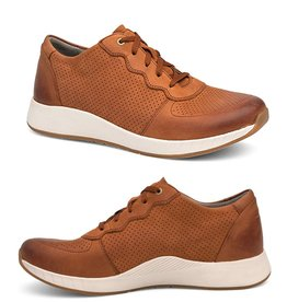 Dansko Christina Saddle Burnished Nubuck Leather Sneaker