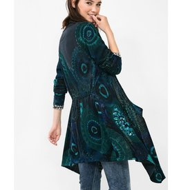 Desigual Elko Wrap Sweater w/ Sequins