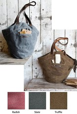 Peg and Awl The Gatherer Waxed Canvas & Antique Leather Bag