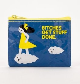 Blue Q Bitches Get Stuff Done Coin Purse