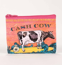 Blue Q Cash Cow Coin Purse