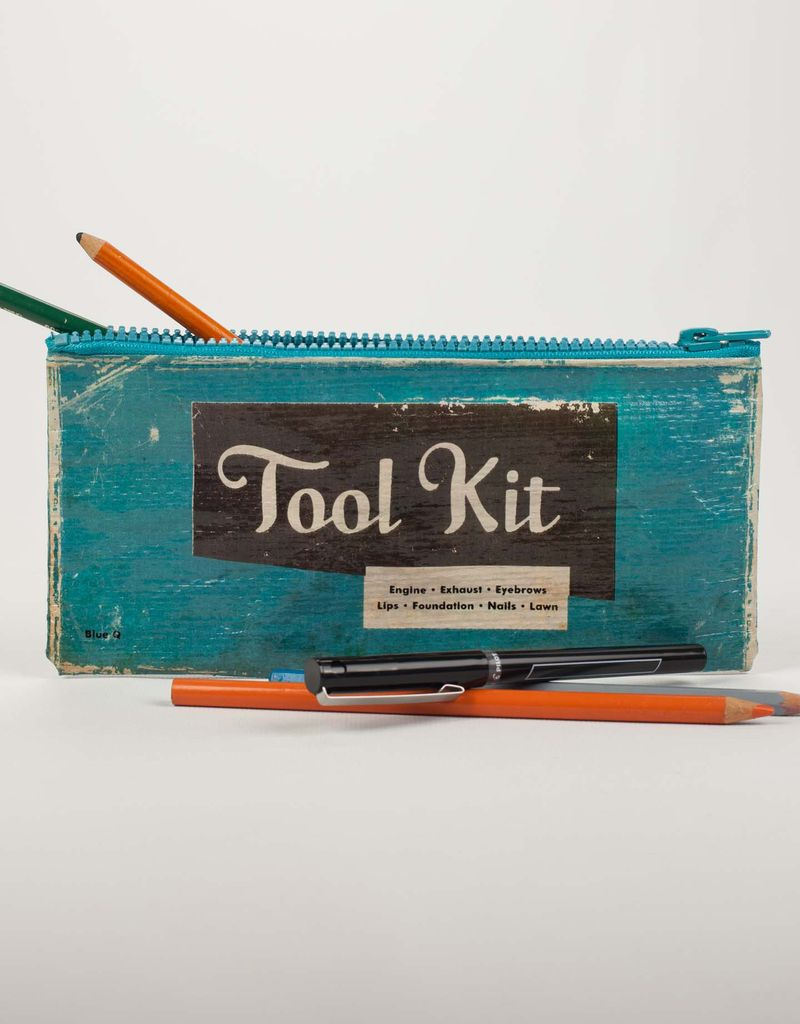 Blue Q Tool Kit Pencil Case