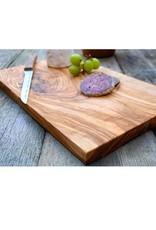 """Natural Olive Rectangular Cutting Board 11.8""""L x 6""""W"""