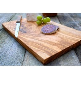 "Natural Olive Rectangular Cutting Board 11.8""L x 6""W"