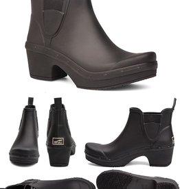 Dansko Dansko Rosa Black Rain Boots