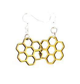 Green Tree Jewelry Honeycomb Blossom Earring