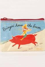 Blue Q Bringing Home the Bacon Coin Purse