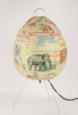 Blue Q Elephant and Co Table lamp