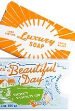 Blue Q It's a Beautiful Day Soap