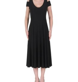 Joseph Ribkoff Sleeveless Off-Shoulder Calf Length Dress