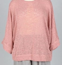 Nally & Millie Oversized Open Knit Sweater