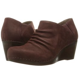 Dansko Sheena Nubuck Bootie Raisin