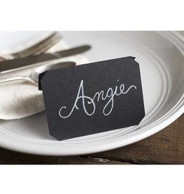Hester & Cook chalkboard placecard pk/12