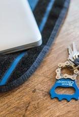 Resource Revival Bike Chain Bottle Opener Keychain