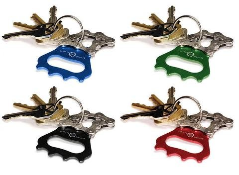 Resource Revival Bike Chain Bottle Opener Keychain