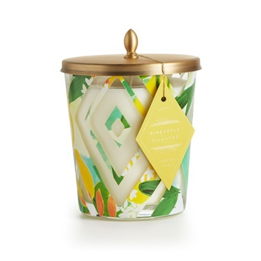 Illume Pineapple Cilantro Cameo Jar
