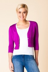 Buur Cropped  Cardigan Viscose Blend