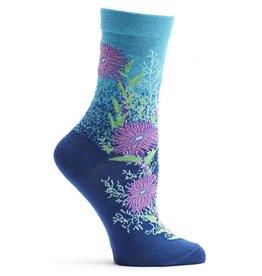 Ozone Designs Bubbling Blooms Socks