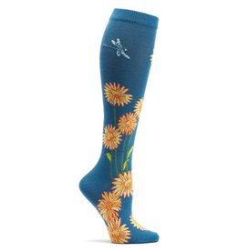 Ozone Designs Dragonflies & Daisies Socks