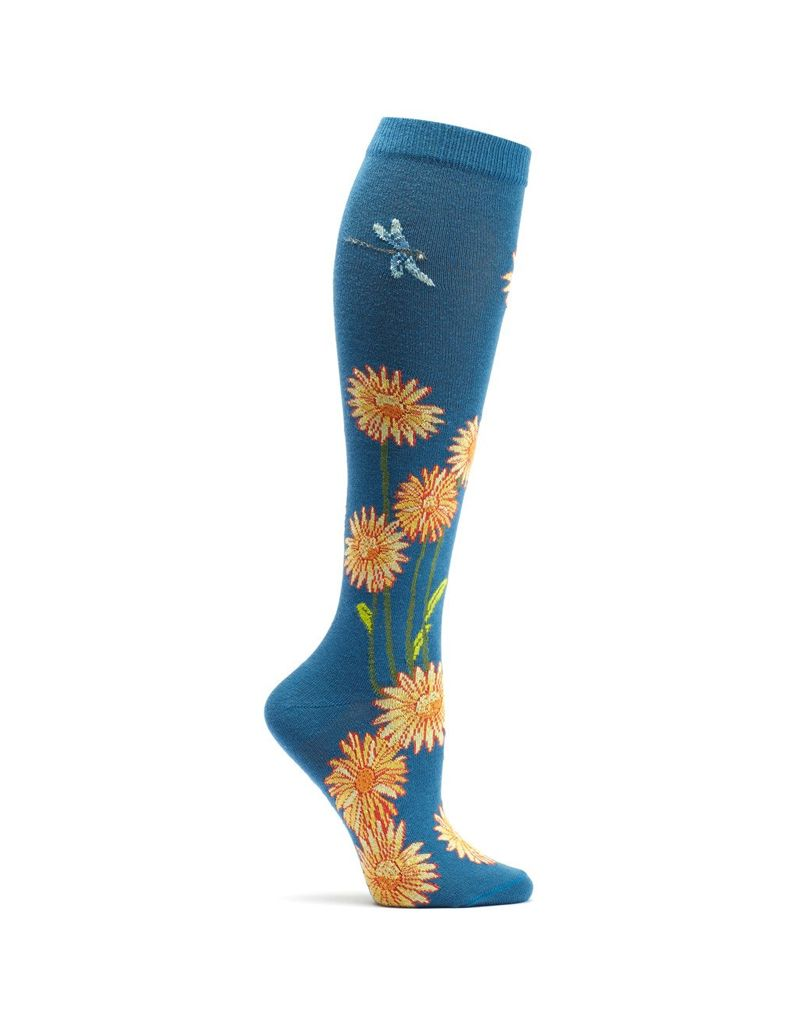 Ozone Designs Dragonflies & Daisies Socks