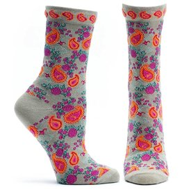 Ozone Designs Flourishing Paisley Socks