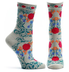 Ozone Designs Rajasthani Rose Socks