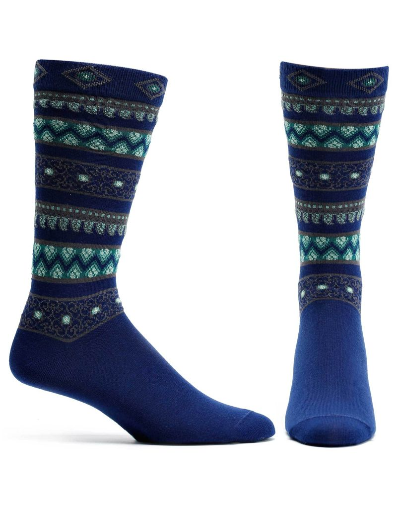 Ozone Designs Men's Sultan Stripes Socks