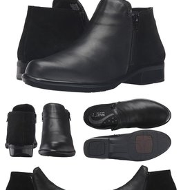 Naot/Yaleet Helm Ankle Boot, Leather and Suede