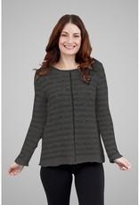 G9C Hi Lo Pullover Sweater w/ Front Center Seam