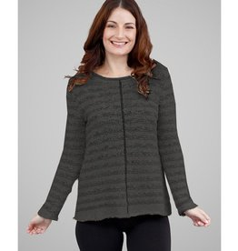 G9C Hi Lo Pullover Sweater w/ Front Center Seam