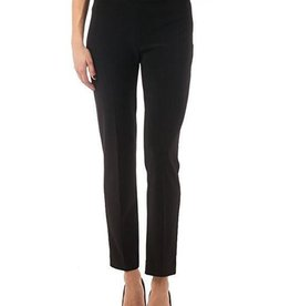 Joseph Ribkoff Narrow pant, polyester Spandex blend. High elastic waist falls at the ankle.