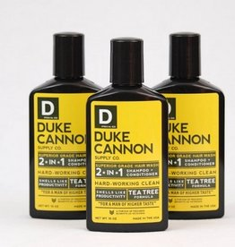 Duke Cannon Superior Grade Hair Wash- Tea Tree Formula