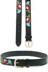 Desigual Caribou Embroidered Belt