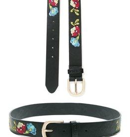 Desigual Caribou Embroidered Belt