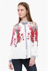 Desigual Berna Floral Blouse