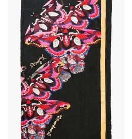 Desigual Polilla Rectangle Scarf