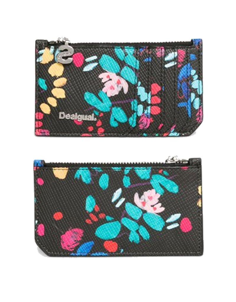 Desigual Misha Zip Card Wallet