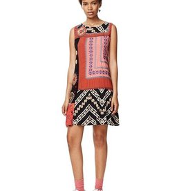 Desigual Creta Mixed Print Dress