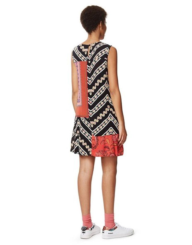 Desigual Desigual, Creta Mixed Print Dress