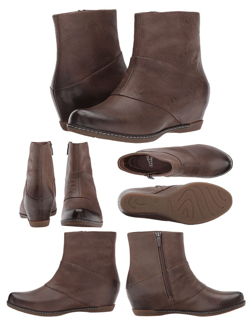 Dansko Lettie Burnished Nubuck Boots