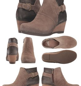 Dansko Shirley Suede & Leather Boots