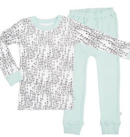 Finn & Emma Pajamas (Arrows / Pastel Turq.)