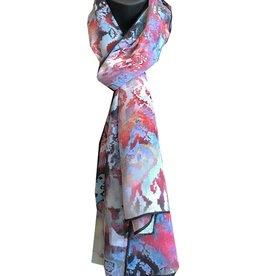 Tianello Majestic Printed Silk Scarf