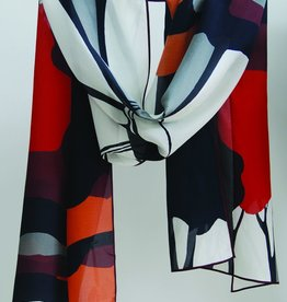 Cocoon House Silk Crepe Scarf-The Avenue