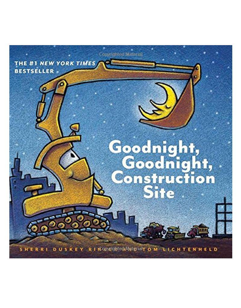 Hachette Goodnight, goodnight, Construction Site - Board Book